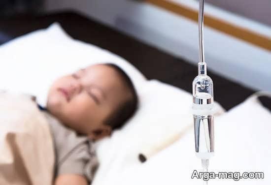 روش های درمان کم آبی کودکان