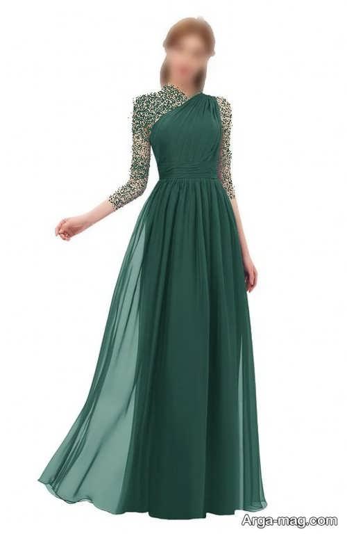 مدل لباس یشمی زیبا و شیک