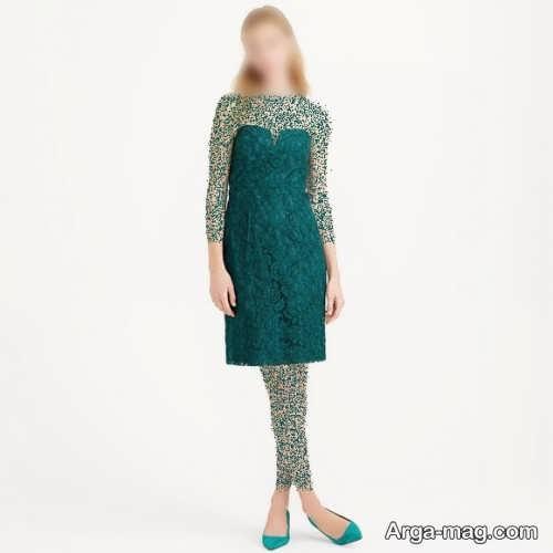 مدل لباس مجلسی یشمی زنانه شیک و زیبا