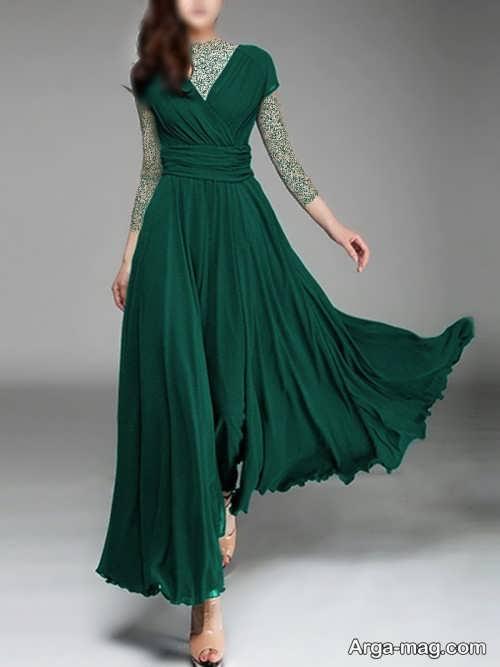 لباس یشمی زیبا و شیک