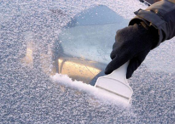 یخ زدن شیشه های ماشین