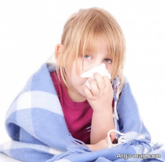 دلیل سرماخوردگی مکرر کودکان