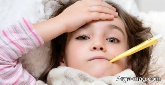 علل سرماخوردگی پی در پی اطفال