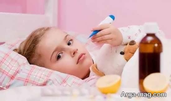 علائم سرماخوردگی پی در پی کودکان