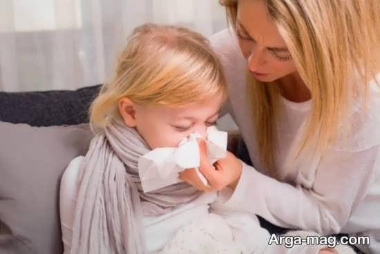 علل سرماخوردگی مکرر کودکان