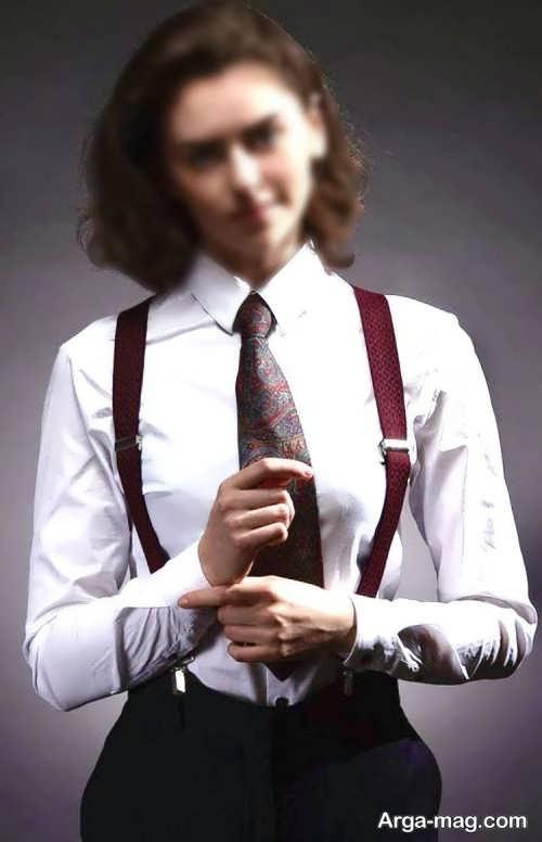 مدل کراوات دخترانه شیک