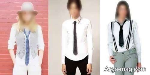 طرح کراوات دخترانه