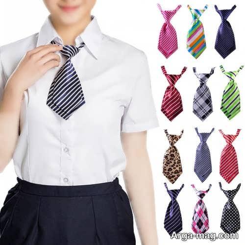 مدل کراوات دخترانه