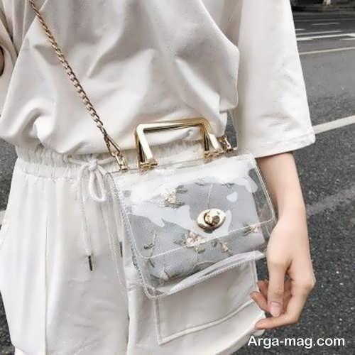 کیف زیبا و شیک شیشه ای
