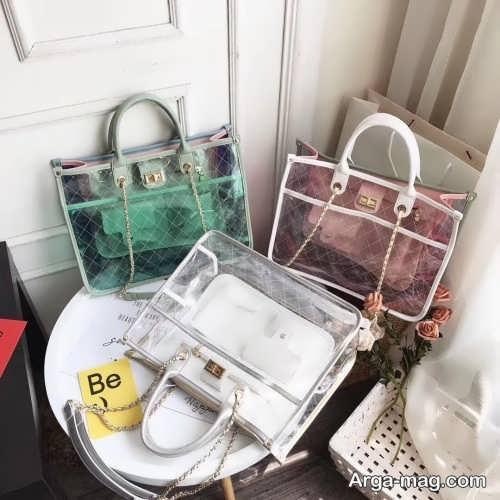 کیف زنانه شیشه ای
