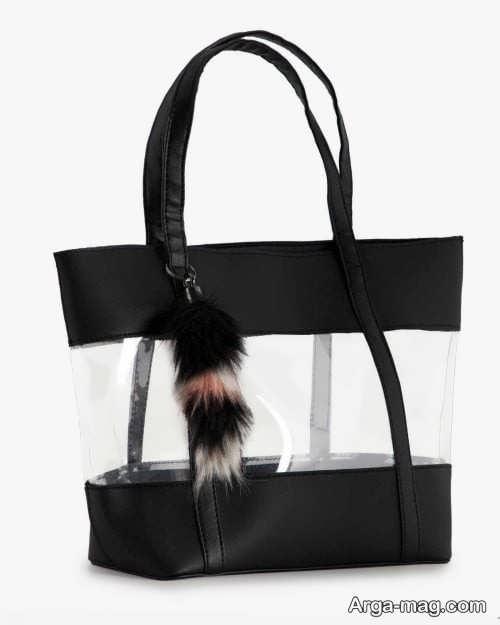 کیف زنانه شیک و شیشه ای
