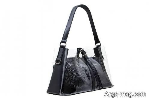 کیف شیشه ای زیبا و شیک