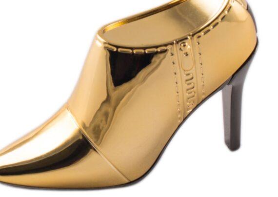 مدل کفش طلایی