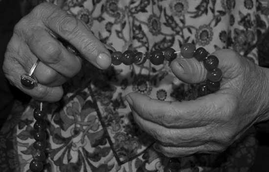تصویر زیبا و جالب از مادربزرگ