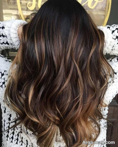 هایلایت زیبا برای مو