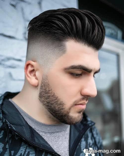 استایل زیبا مو برای پسران