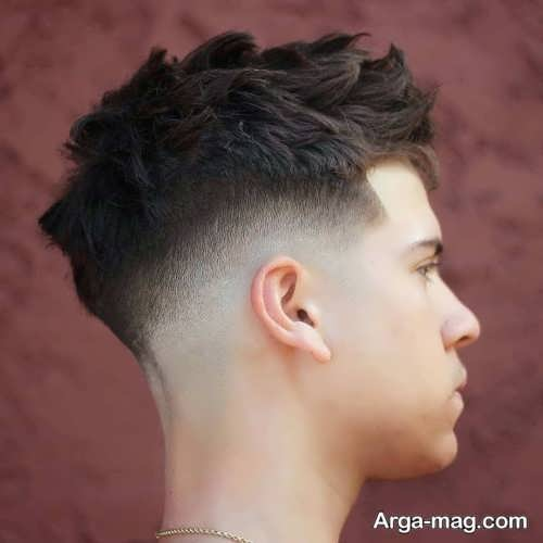 استایل موی کوتاه پسرانه