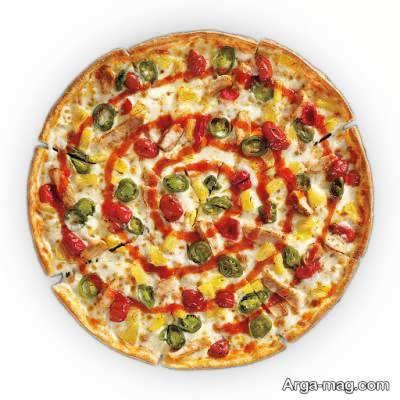 آموزش طرز پخت پیتزا آمریکایی
