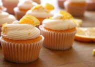 آموزش طرز تهیه کاپ کیک پرتقالی برای تمامی سلیقه ها