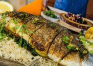 آشنایی با طرز تهیه ماهی و گردو