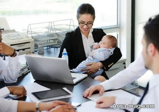 بررسی تاثیر اشتغال مادر بر تربیت فرزندان