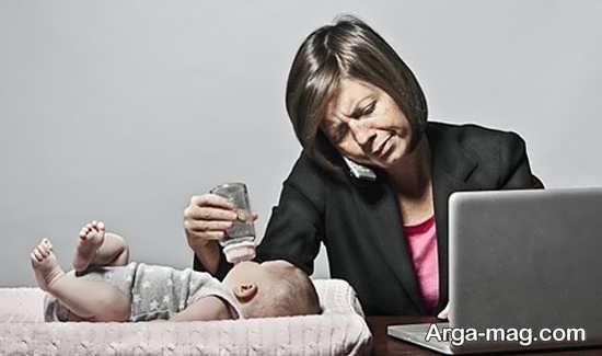 تاثیرات منفی ناشی از اشتغال مادران