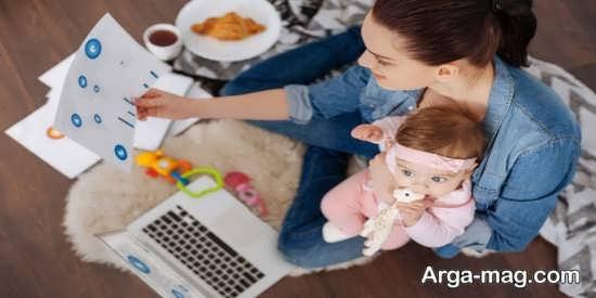 تاثیرات منفی اشتغال مادر در رسیدگی به فرزندان