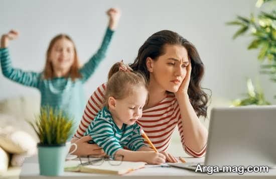 محدودیت های اشتغال مادر بر تربیت فرزندان
