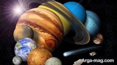 مطالعه دانستنی های جالب درباره فضا
