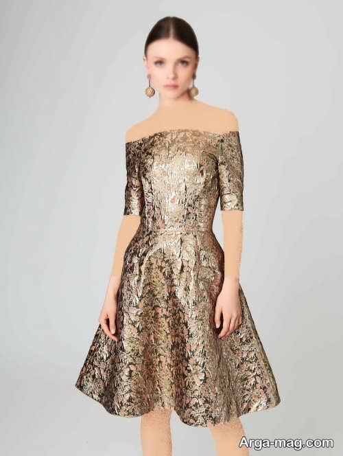 لباس کوتاه ژاکارد