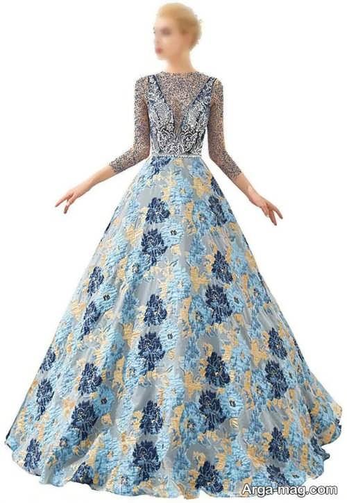 مدل لباس طرح دار زنانه