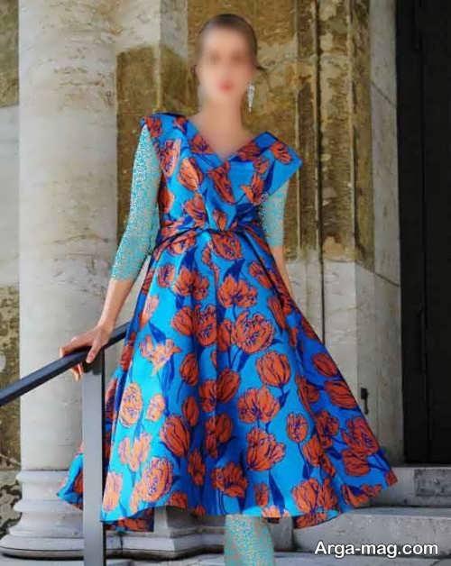لباس مجلسی طرحدار