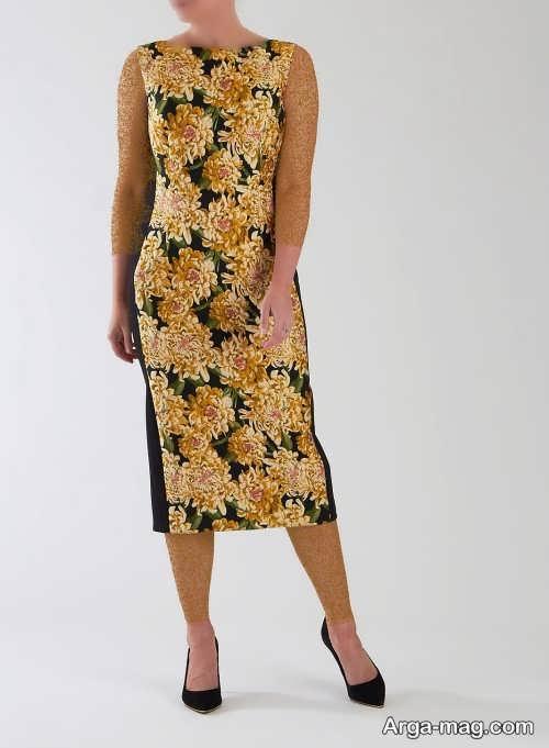 مدل لباس طرح دار