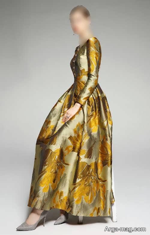 لباس زیبا و شیک ژاکارد