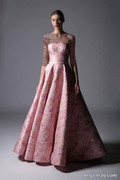 مدل لباس مجلسی ژاکارد زنانه و دخترانه