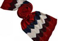 شال رنگی سر