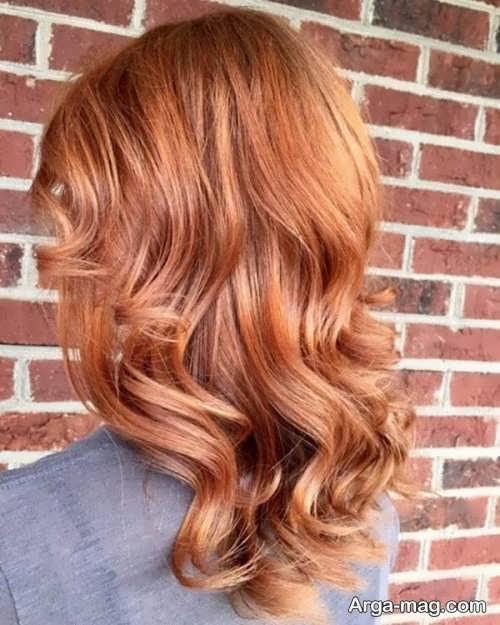 رنگ موی شرابی روشن مخصوص خانم ها