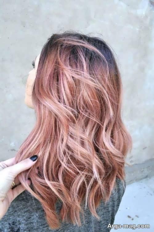 مدل رنگ موی روشن زنانه
