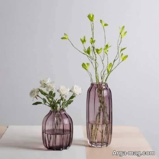 طرح های شیک و بینظیر از گلدان بلند