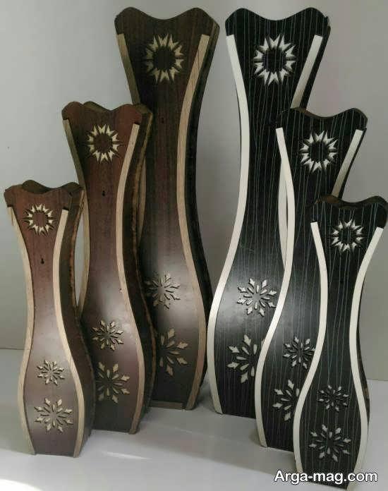انواع مدل گلدان بلند با طراحی های شیک