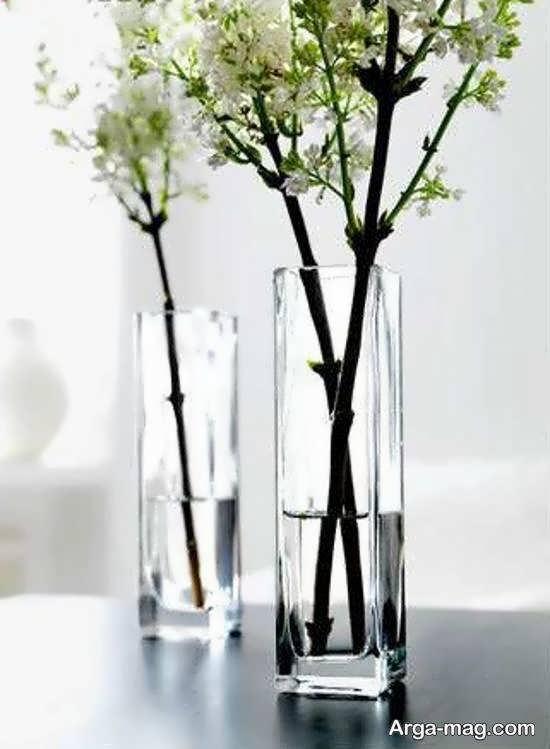 طرح هایی متنوع از گلدان بلند