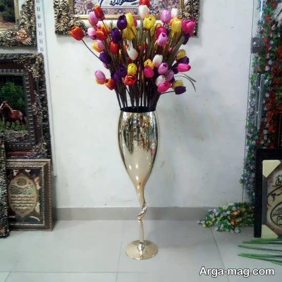 نمونه هایی فوق العاده از گلدان بلند