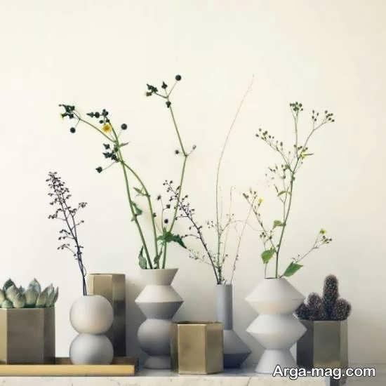 انواع الگوهای زیبا و شیک گلدان بلند