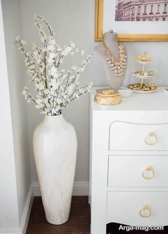 گالری زیبایی از نمونه های متنوع گلدان بلند