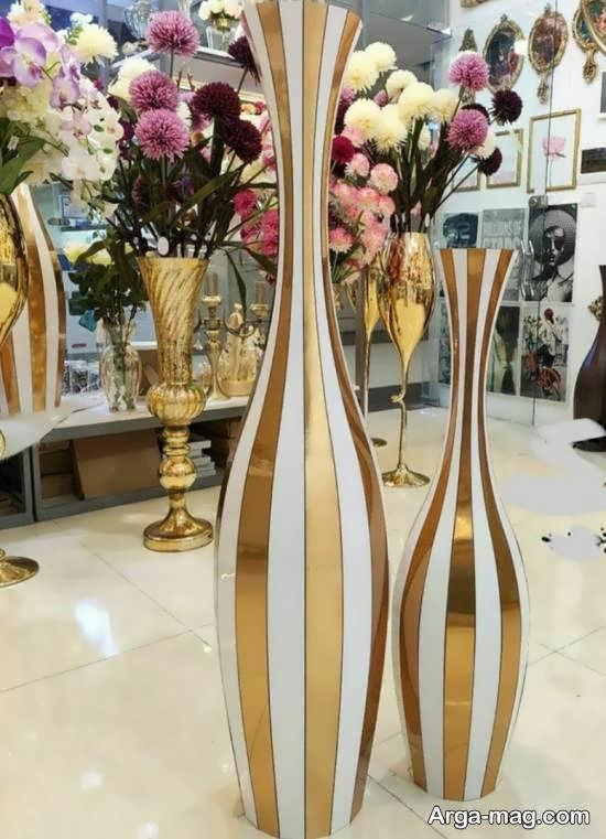 مدل گلدان بلندیکی از گلدان های کاربردی و زینتی