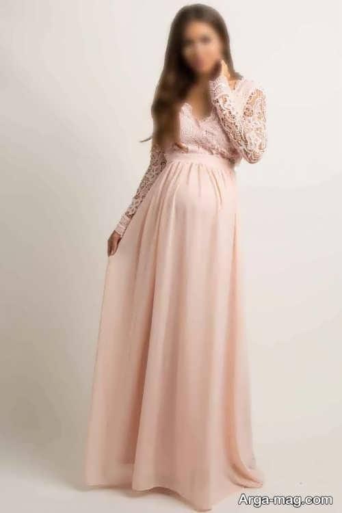 مدل لباس بارداری برای آتلیه برای ثبت عکس های لاکچری