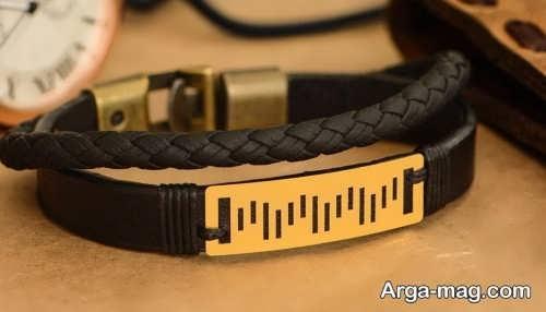 دستبند زیبا و جدید مردانه