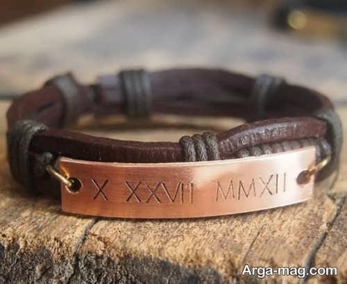 مدل دستبند چرم مردانه شیک و زیبا