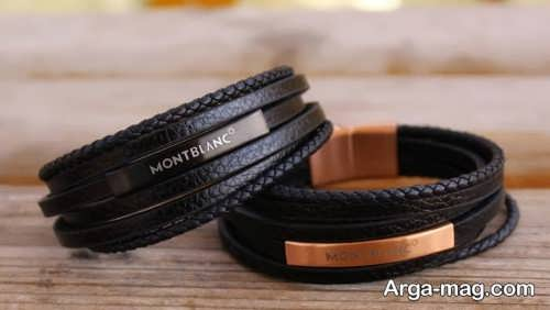 مدل های دستبند چرم مردانه