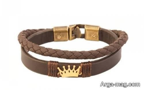طرح های دستبند چرم مردانه